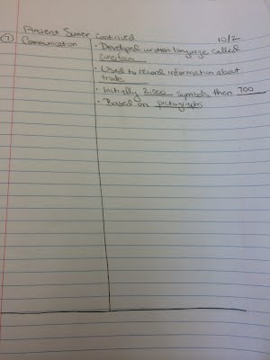 cornell notes chapter 3 world history